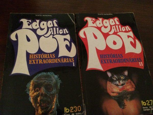 Histórias Extraordinárias é uma colectânea decontos publicados entre os anos de 1833 e 1845,considerados clássicos da literatura de horror e policial. É um livro magnífico, tanto para quem gosta de contos de horror e mistério, quanto para quem deseja conhecer um dos mestres nesse estilo literário. Da primeira à última página, Edgar Allan Poe colocou todo o seu pessimismo e espírito macabro que possuía em vida, e que, apesar de às vezes causar calafrios nos leitores, mostra na perfeição a sua genialidade como escritor.